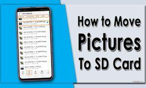 Resimler SD Karta Nasıl Taşınır?