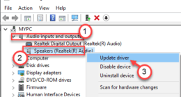 Windows 10 HDMI ses çalışmıyor