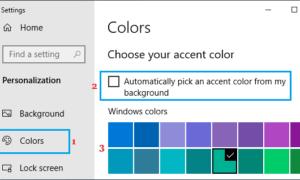 Windows 10'da Görev Çubuğu Rengi Nasıl Değiştirilir