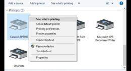 Windows 10 Yazdırma Hatası ve Çözümü