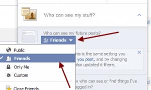 Facebook Genel ve Arkadaşlardan Fotoğraflar Nasıl Gizlenir