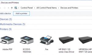 Windows 10'da Kablosuz Yazıcı Nasıl Eklenir / Kurulur