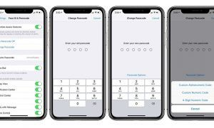 iPhone ve iPad cihazlarda 4 Haneli Parola Oluşturma