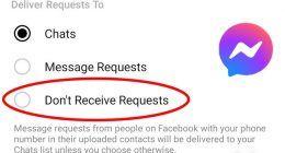 Facebook'ta Mesaj İstekleri Nasıl Kapatılır