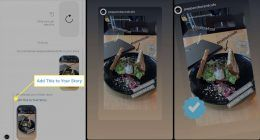 Instagram'da başkasının hikayesini paylaşma