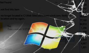 Windows 10 Dizin Oluşturulurken Bir Hata Oluştu
