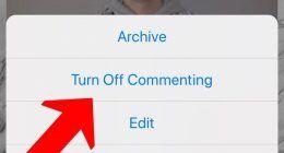 Instagram'da Yorumlar Nasıl Kapatılır